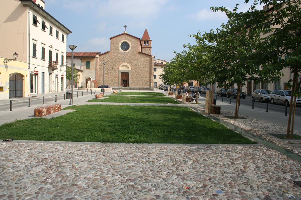 Piazza S. Agostino - Prato